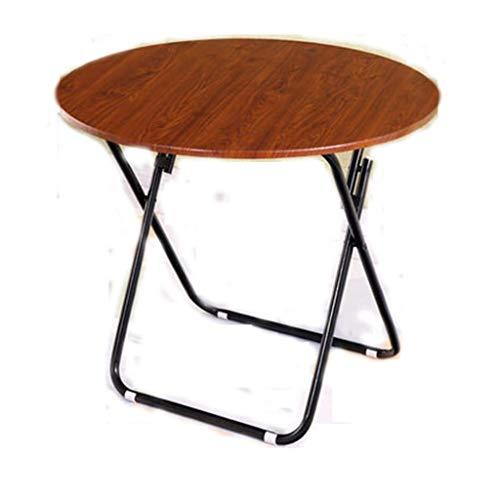 AOIWE Mesa plegable para el hogar, mesa de comedor, mesa de comedor, mesa cuadrada y grande, mesa redonda