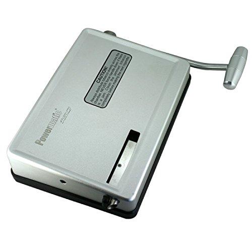 MM Powermatic 150-Hebelstopfmaschine-Silber-Manual Injector Zigaretten Stopfmaschine, Chrom, Silber, 20 x 15 x 5 cm