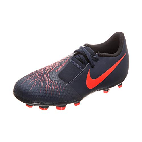 Nike Performance Phantom Venom Academy FG Fußballschuh Kinder dunkelblau/weiß, 3Y US - 35 EU - 2-5 UK