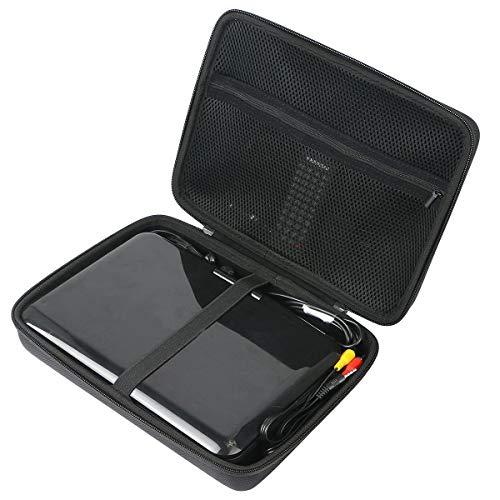 Khanka Hart Tasche für APEMAN 7,5\'\' 7.5/10,5\'\'10.5 inch Tragbarer DVD-Player und Zubehör.(nur Tasche)