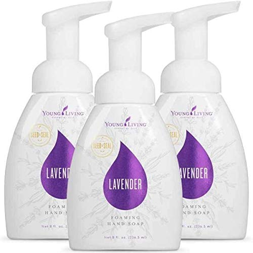 EssentialOilsLife - Lavender Foaming Hand Soap - 3 pk