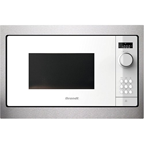 Micro ondes Encastrable Brandt BMS6115W - Micro-Ondes Integrable Blanc - 26 litres - 900 W