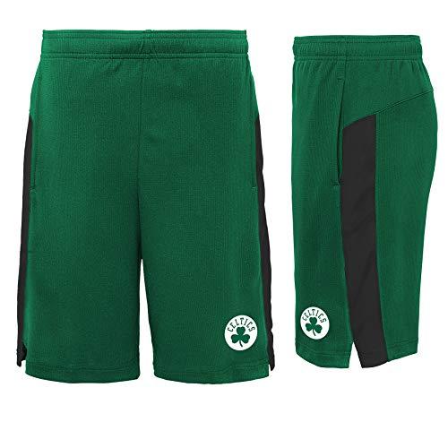 adidas Boston Celtics Youth Green Performance Basketball Shorts (X-Large)