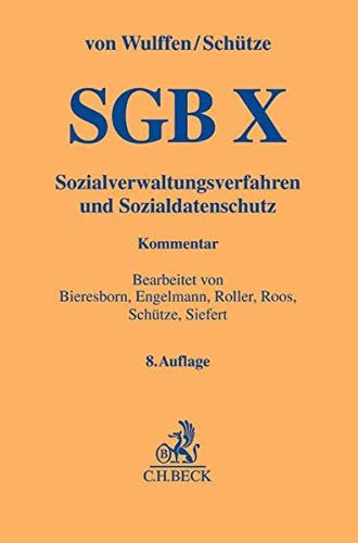 SGB X: Sozialverwaltungsverfahren und Sozialdatenschutz