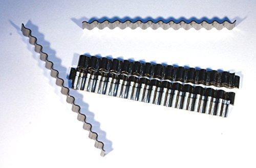 1000 Estrichklammern/Wellenverbinder L= 70mm B= 6mm Estrichwellenverbinder