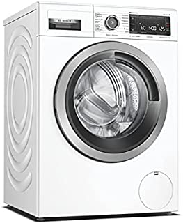 Bosch Hausgeräte WAV28MWIN Serie 8 Waschmaschine Frontlader/A / 48 kWh/100 Waschzyklen / 1400 UpM / 9kg / weiß/Fleckenautomatik / 4D Wash System/Home Connect/EasyStart
