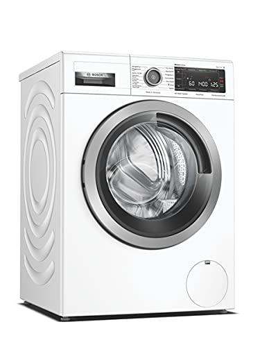 Bosch WAV28MWIN Serie 8 Waschmaschine Frontlader/A / 48 kWh/100 Waschzyklen / 1400 UpM / 9kg / weiß/Fleckenautomatik / 4D Wash System/Home Connect/EasyStart
