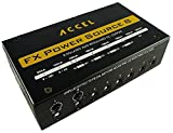 Accel Power Source 8 Isolated Output Pedal Power Supply...