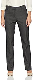 Ruby Rd. Women's Fly Front Heathered Millennium Tech Stretch Pant