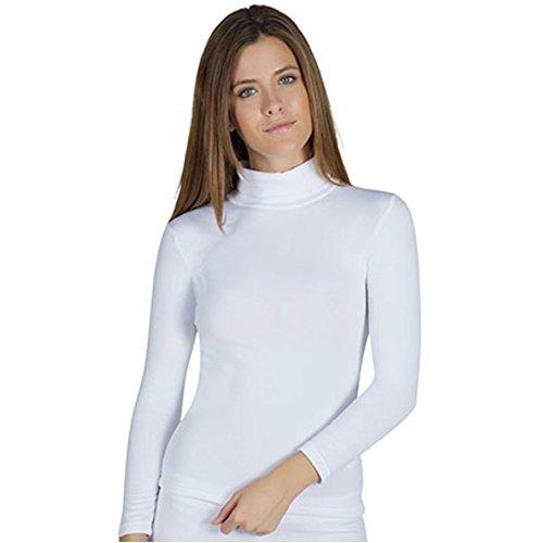 YSABEL MORA - Camiseta TERMICA Cisne Mujer Color: Blanco Talla: Large