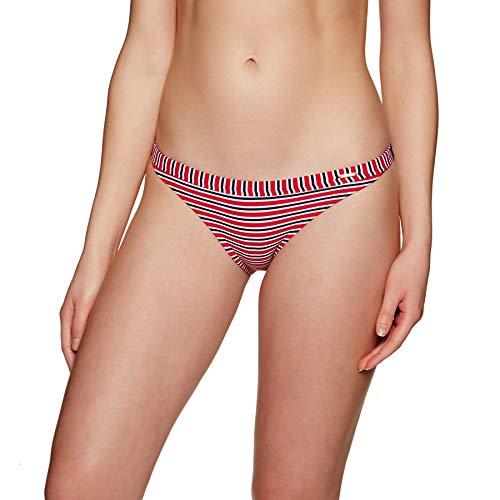 Superdry Kasey Fixed Tri Bikini Bottoms Small Nautical Red