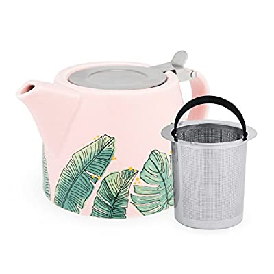 Pinky Up 6146 Harper Tropical Teapot & Infuser Up Teapots, One Size,