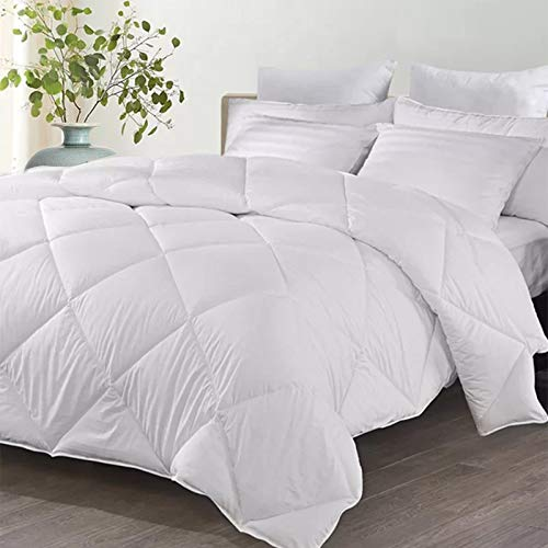 Lightweight Quilt King Size – Anti Bacterial Washable Cozy & Warm Feels Like Down Hotel Duvet – Uk Made