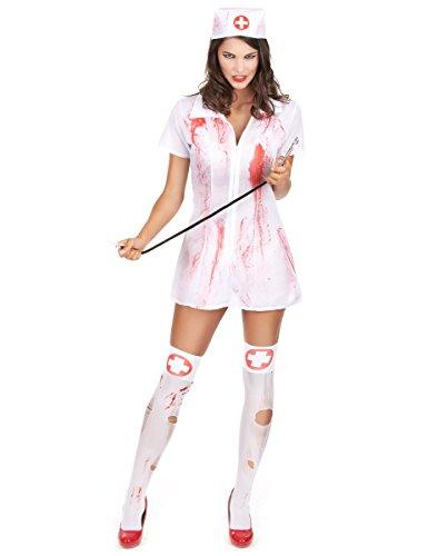 Déguisement infirmière psychopathe femme Halloween
