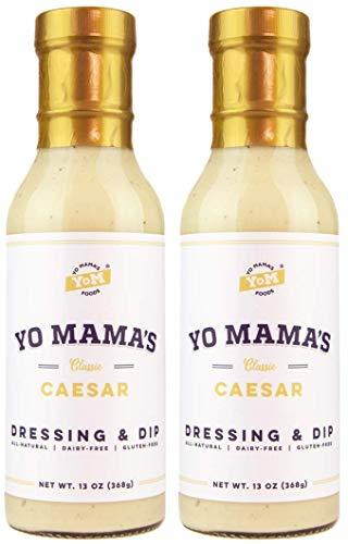 Keto Caesar Salad Dressing by Yo Mama's Foods – (2) Bottles
