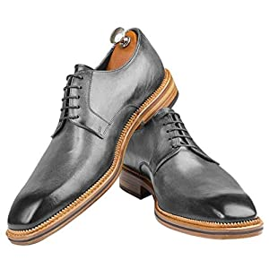 Atelier GUAROTTI Italian Bespoke Shoes – Custom named – Derby Mondavio