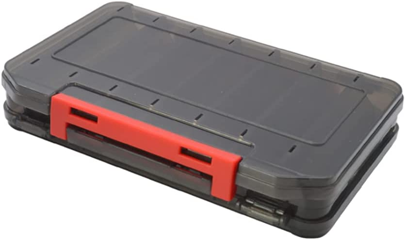 San Francisco Mall Challenge the lowest price Better-love Fishing Lure Box Double Trays Storage F Sided Tackle