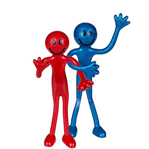 OOTB Biegefigur 13 cm - zufälliges Muster - Spielzeug Smiley