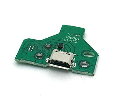 USB Ladeanschluss Buchsenleiste JDS-011 für Sony PS4-Controller 12 Pin-Kabel