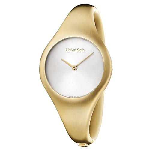Calvin Klein Bare Damen-Spangenuhr K7G1M516