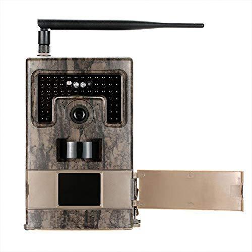 Caméra de Chasse, 2G MMS GPRS SMTP Mail Outdoor HD étanche Infrarouge Vision Nocturne caméra de Chasse, 120 ° Grand Angle 48 PCS Stealth Infrarouge LED, Surveillance à Domicile en Plein air