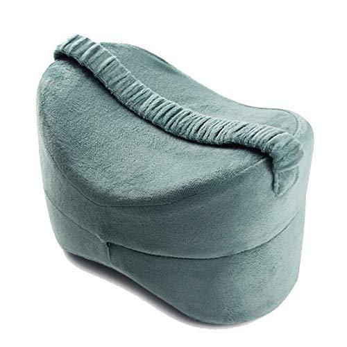 Periste Memoria de la personalidad placa clip de la almohadilla del algodón de la pierna de la rodilla de la pierna paso elevación de los pies almohada próspera anti-presión de la pierna de yoga almoh