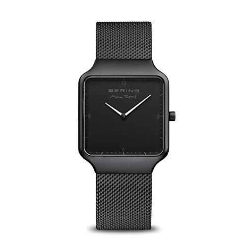 BERING Damen Analog Quarz Uhr mit Edelstahl Armband 15832-123