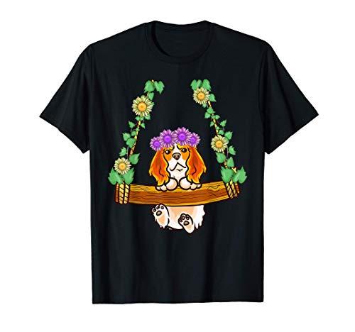 El rey Charles Spaniel en el columpio Camiseta
