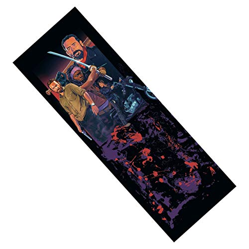 Walking Dead Metal Bookmark for Horror and Zombie Fans