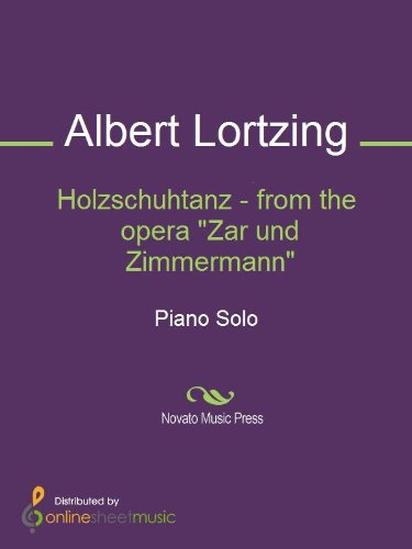 Holzschuhtanz - from the opera