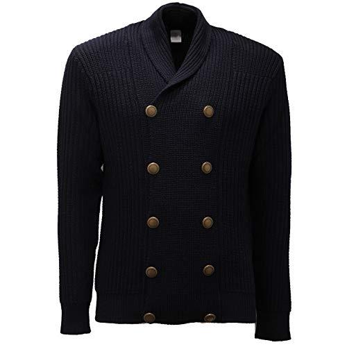 Eleventy 9650AC Giacca Uomo Blue Wool Cardigan/Jacket Men [M]