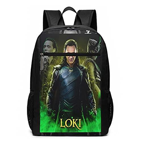 Loki - Mochila de viaje para ordenador portátil, resistente al agua, mochila de negocios, mochila casual para senderismo