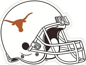 4 Inch Longhorn Football Helmet Logo Decal UT Logo University of Texas Longhorns TX Removable Wall Sticker Art NCAA Home Room Decor 4 by 31/2 Inches