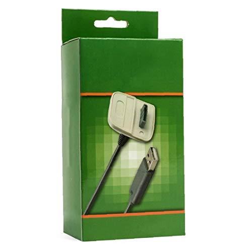 Mando inalámbrico de carga USB cable cargador para Microsoft XBOX 360 /...