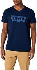 Levi's Housemark Graphic tee Camiseta para Hombre Laser Indigo