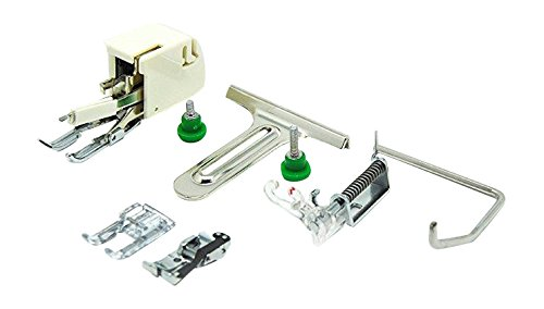 Alfa Set de accesorios de costura para patchwork y acolchado, accesorio para máquina de coser, acero inoxidable