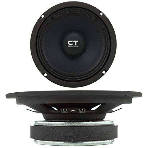 """CT Sounds 6.5 Inch Car Audio Speaker- 4 Ohm Impedance, 60W (RMS) 
