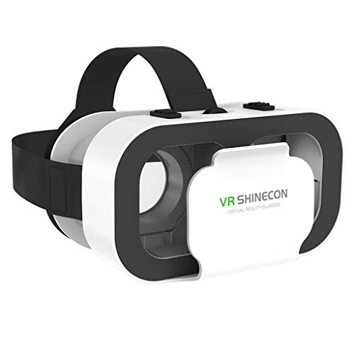 P Prettyia 3D Virtual Reality VR Brille VR Shinecon 3D Movie & Games Tragbare Brille für 4,7 '' 6,53 '' Handy