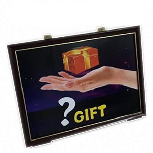 Magic Accessories Truco del Tablero de Regalo 4D / 4D Gift Board Trick ---- Truco de Magia, Truco de Fiesta, Truco de Magia, Kits de Magia