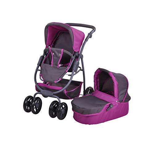 KNORRTOYS.COM Knorrtoys 90782 - Puppenwagen Coco Tec Purple