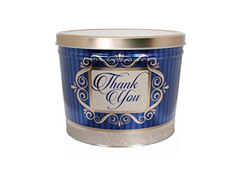 Review Of C.R. Frank Popcorn - Gourmet Popcorn Tin, 2 Gallon, Golden Thank You (All Butter)