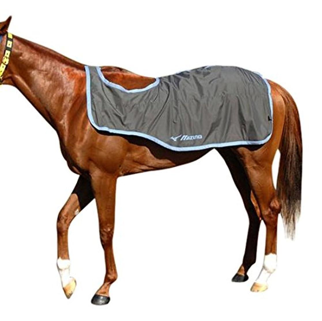 メタリック山岳ハンディMIZUNO(ミズノ) 馬着 ペルグテックEX/雨用エクササイズラグ(乗馬用) 32JT5G23