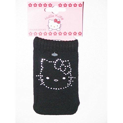Calcetín teléfono portátil Hello Kitty con brillantes