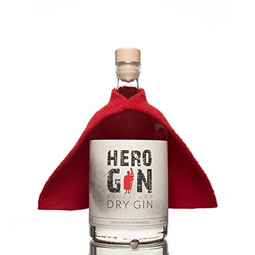 Hero Gin - Distilled Dry Gin - Handcrafted from Heroes (0,5l | 41% vol.)