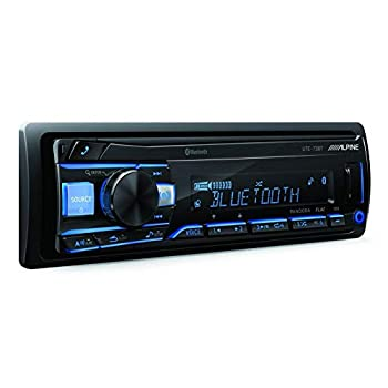 Alpine UTE-73BT Advanced Bluetooth Mech-Less Digital Media Receiver  Does not Play CDs