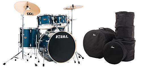 Tama IE52KH6W-HLB Imperialstar Drumkit Hairline Blue Set inkl. Gigbags