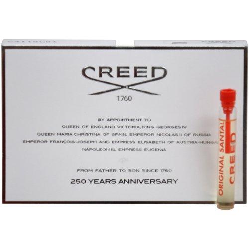 Creed Original Santal Millesime Splash For Men, Vial, Mini,0.08 Ounce