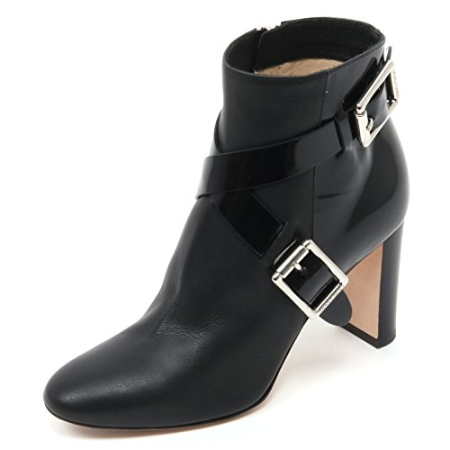 Jimmy Choo B7048 Tronchetto Donna DEE 85 Scarpa Nero Shoe Boot Woman [40]
