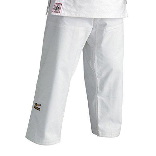 Pantaloni Mizuno judo Omologato IJF c/lacci Bianco (3)