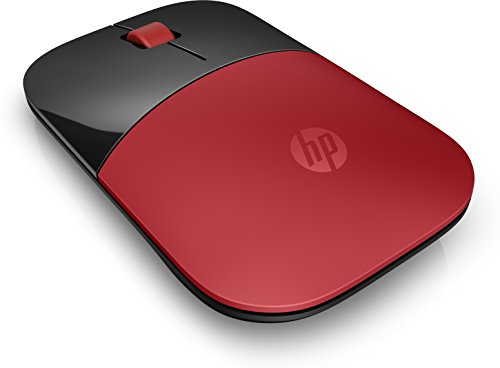 HP Z3700 Mouse Wireless, Rosso